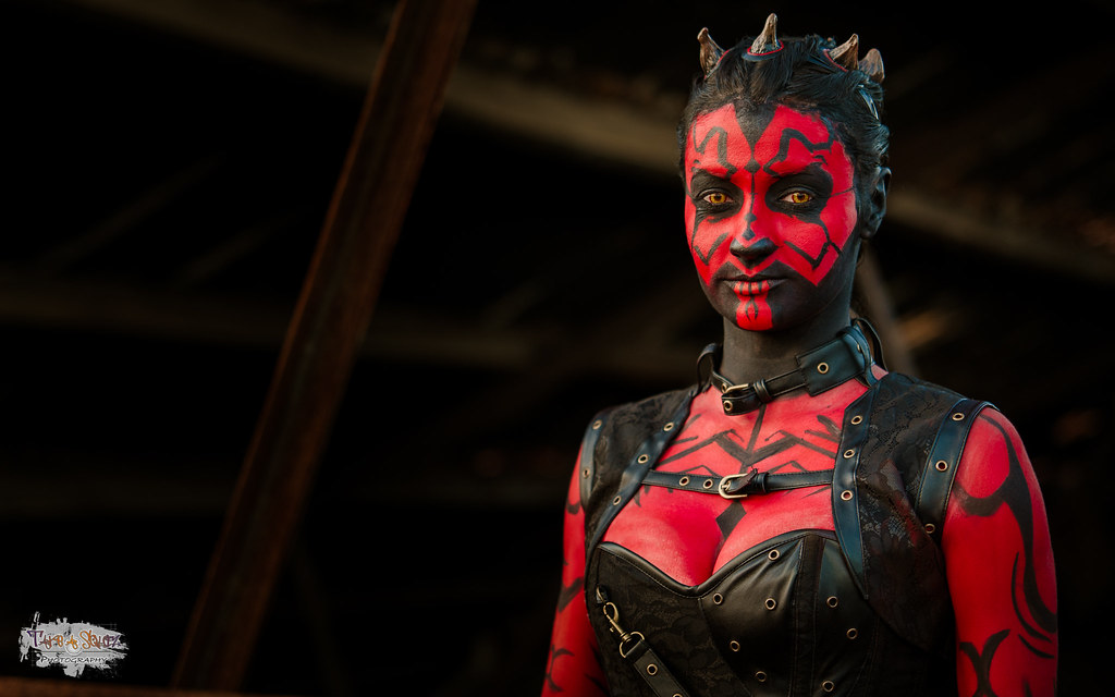 darth maul 4k cosplay session with the talented miss bro flickr