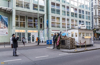 checkpoint charlie berlin 8 | by Eva Blue