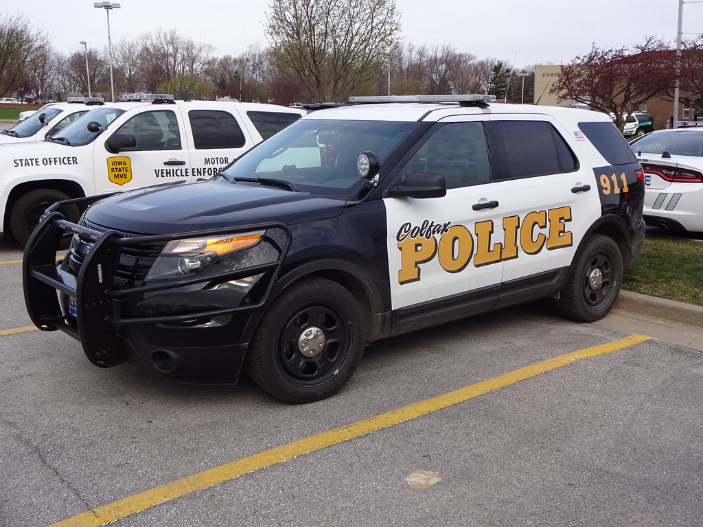 Colfax Police Ford Interceptor Suv Colfax Ia Caleb Owen Flickr