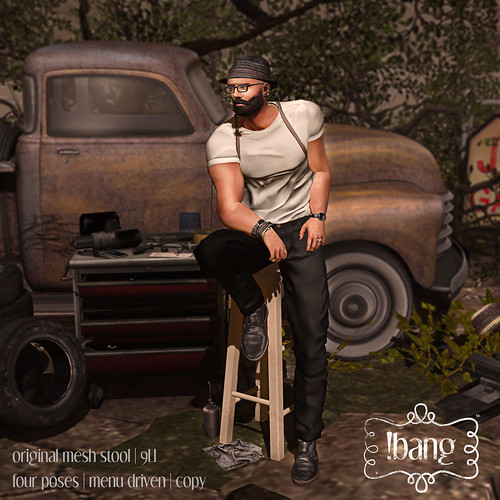 !bang - stool homme | by Luna Jubilee / !bang poses