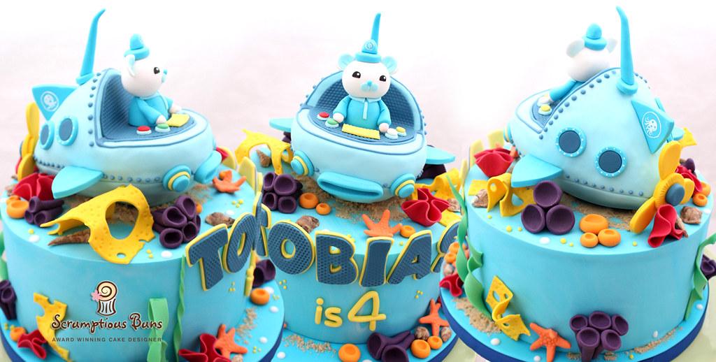 Octonauts Submarine Cake Topper Samantha Douglass Flickr
