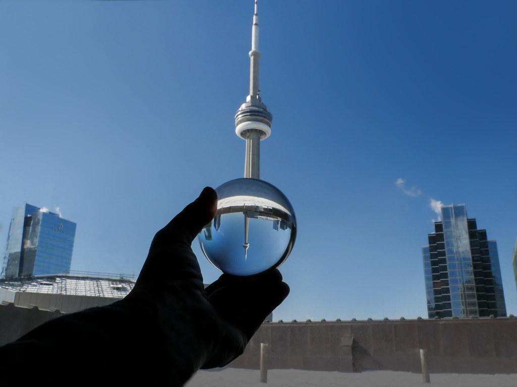 Iconic Cn Tower Inside My Crystal Ball Marianna Armata Flickr