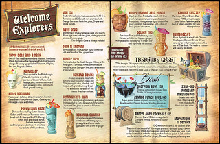 Menu at The Golden Tiki | by The Tiki Chick