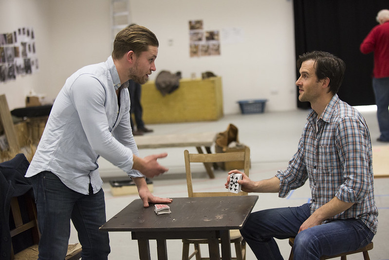 First Look: Of Mice and Men in rehearsals
