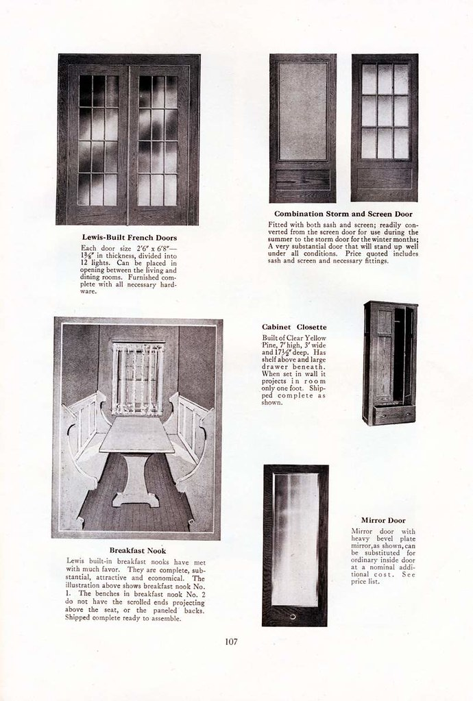 1925 Lewis Home Catalogue The Interior Doors Kit Houses Flickr