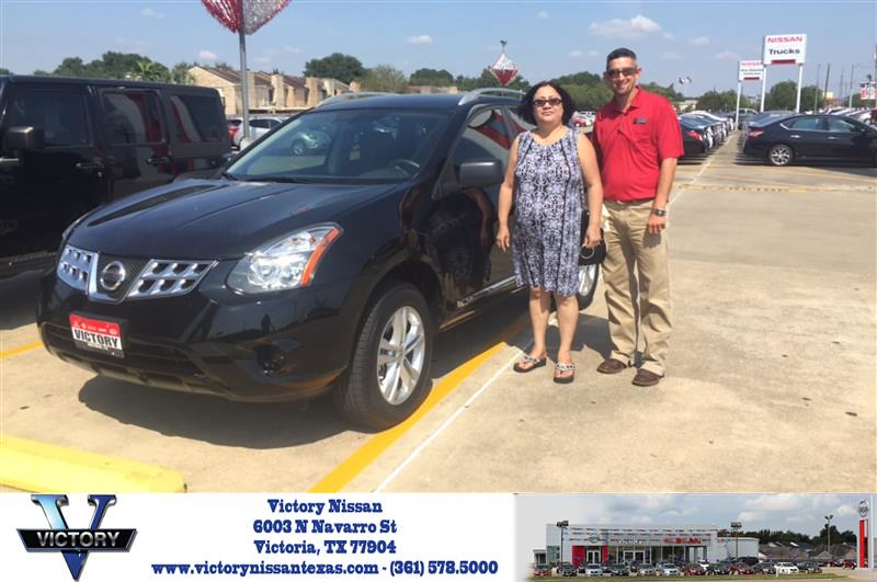 Victory Nissan Victoria Tx >> Congratulations Rose On Your Nissan Rogue Select From Ma