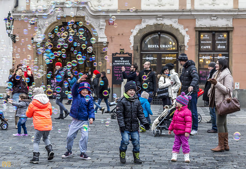 002 bubbles in old town prague 01 | by Eva Blue