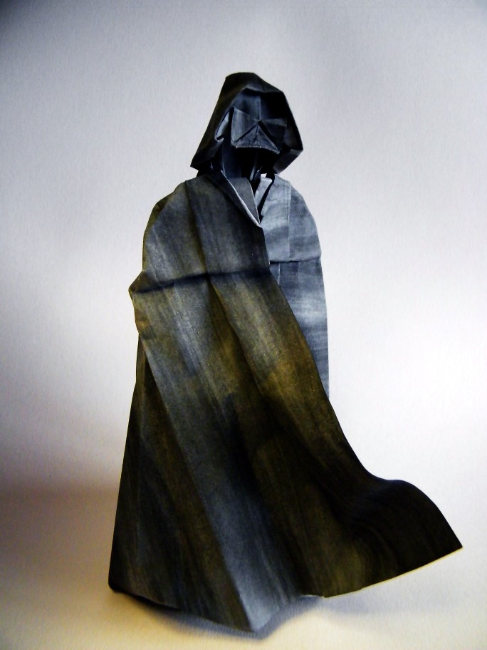 Darth Vader Ngel Morolln From A Square Of Drawing Pape Flickr