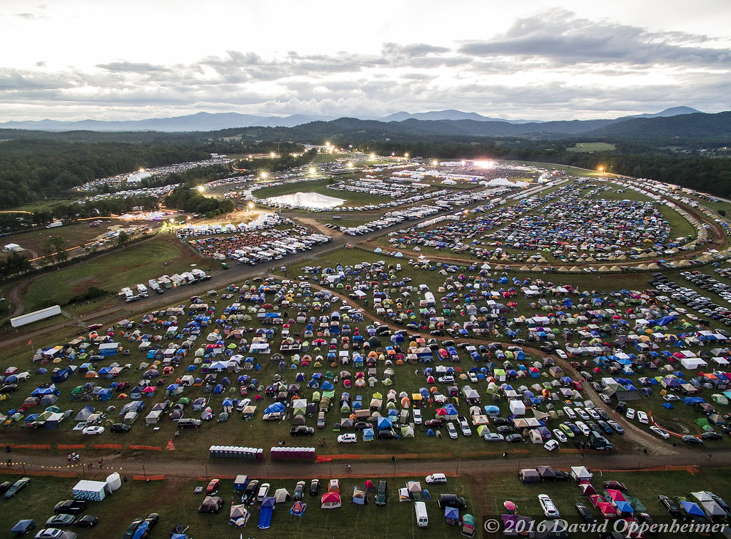 Lockn\' Festival Aerial Photo | Lockn\' Festival aerial photo … | Flickr