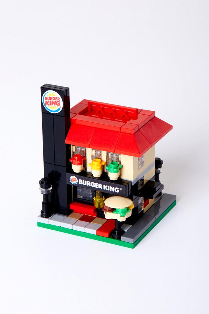 Lego Burger King mini building v1.0 | Minimalbrick 03th mini… | Flickr