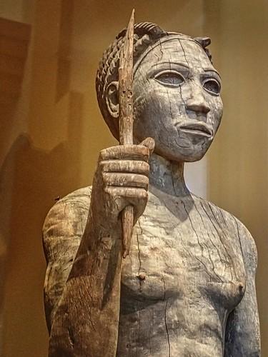 Funerary Sculpture Of A Male Warrior By Sakalava Or Bara A