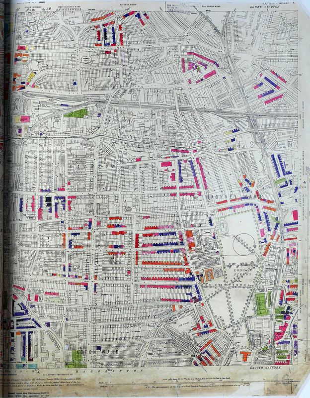 London County Council Bomb Damage Map Dalston Flickr - London map 1945