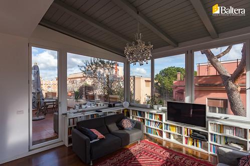 Veranda porta finestra baltera porte e finestre flickr for Baltera roma