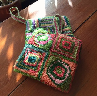 Rug Punch Potholders with Inkle Strap | by Twill Power