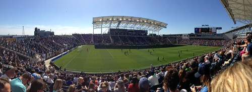 WFU at  Philadelphia Union Game 2013 | by WFU Alumni, Parents & Friends
