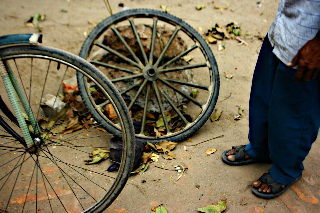 Wheel And Feet: The Biggest Revolutionary Invension Ever T… | Flickr
