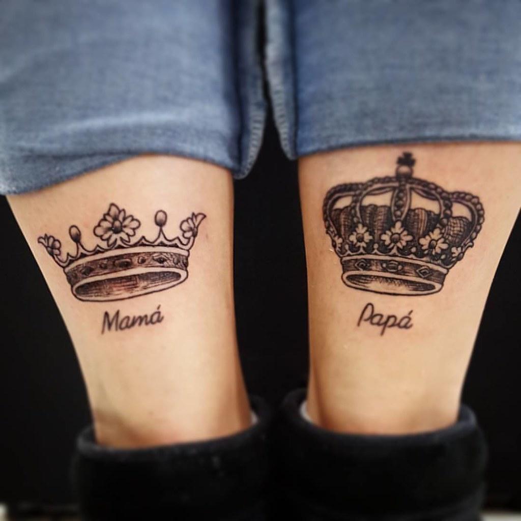 Coronas Blonde Tattoo Studio Artista Gonzalo Tattoo Tatu Flickr