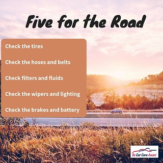 Five for the Road | by carcarecouncil