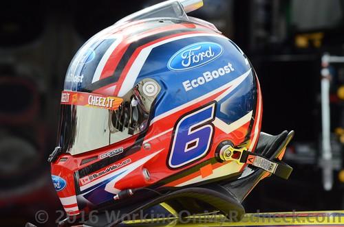 Darrell Wallace, jr's helmet