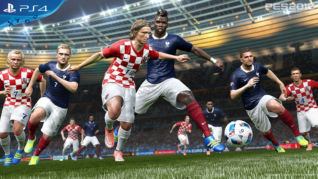 Euro  France Vs Croatia By Playstation Europe