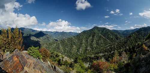 Mount LeConte from the Chimney Tops | by Tim Lumley