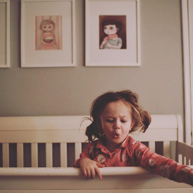 7:25 am This little monkey is getting up and ready for the day. #adayinthelife #adayinthelifephotochallenge