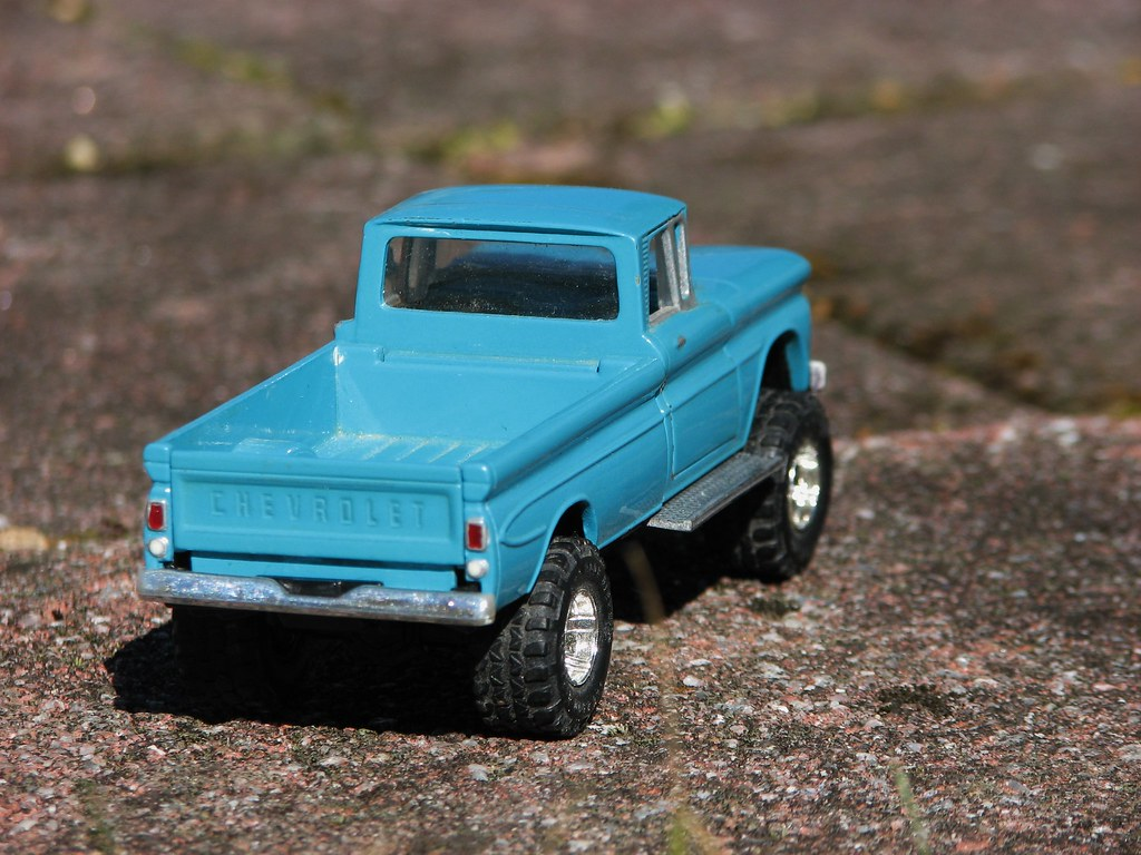 My Custom Made I 43 Scale 1961 Chevy Apache 10 4x4 In Marc Flickr Pickup Truck March 2016