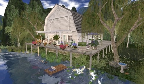 Brook Hill Living Waterfront Barn | by Hidden Gems in Second Life (Interior Designer)