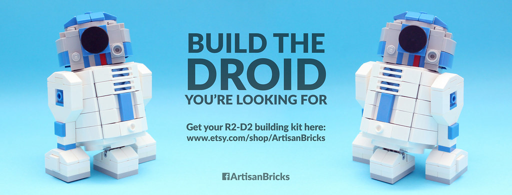 Artisan Bricks By Jeffrey Kong Lego R2 D2 Brick Building Flickr
