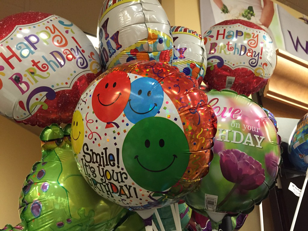 By Travel Galleries Cute Happy Birthday Balloons At Safeway
