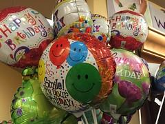 Cute Happy Birthday Balloons At Safeway