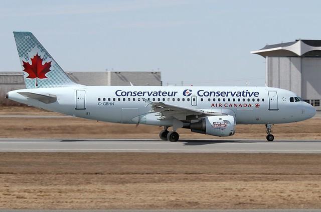 A.319-114 C.n 0773 'C-GBHN' Air Canada