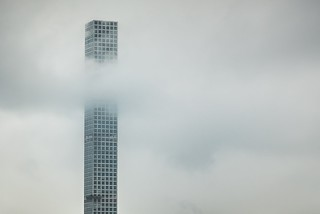 Living on Cloud 9! View of 432 Park Avenue on an overcast day today. | by javansg