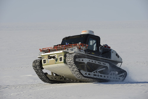 Operation Nunalivut Cafjae 2016 Light Over Snow Vehicle