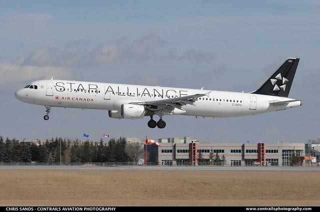 Air Canada A321 CGITU