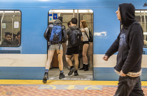 no pants subway ride montreal 2016 - 76 | by Eva Blue