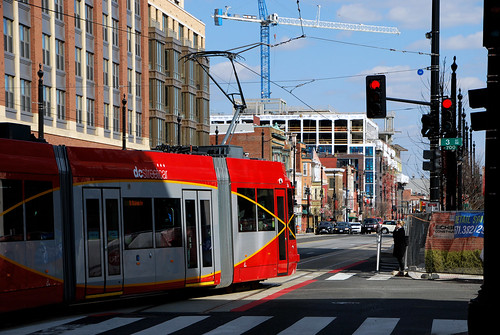 Streetcar on H Street
