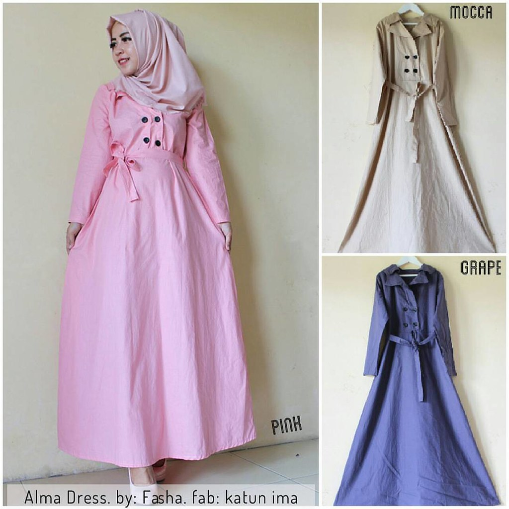 Alma Dress Harga 135 000 Bahan Katun Ima Size Xl Koleks Flickr