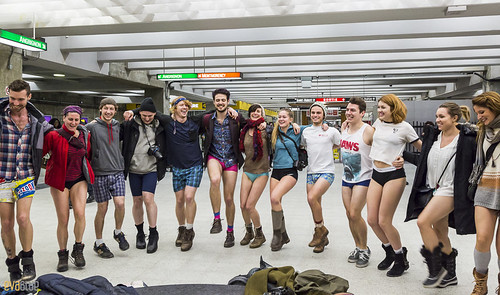 no pants subway ride montreal 2016 - 93 | by Eva Blue