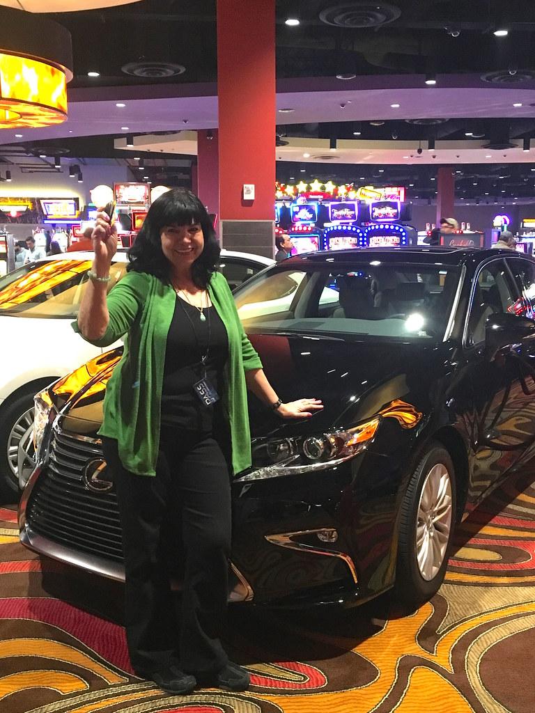 Lexus Winner Veronica From Hondo TX Kickapoo Lucky Eagle Casino - Lucky eagle casino car show