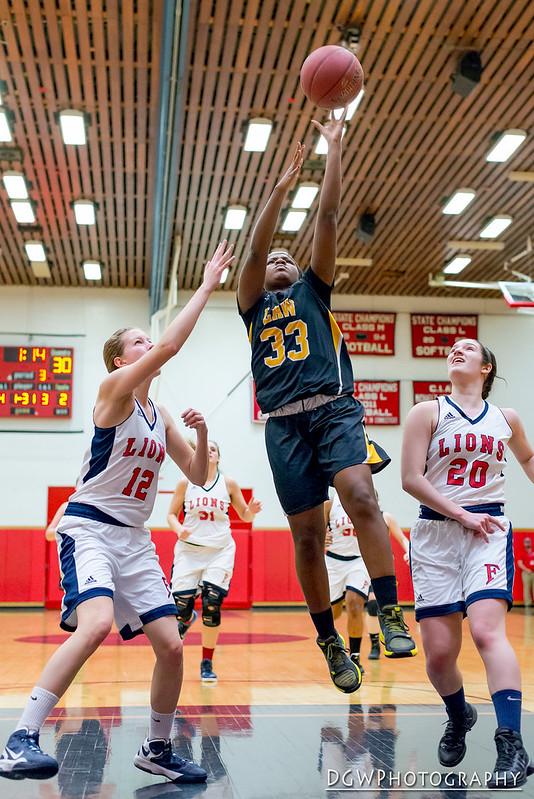 Foran High vs. Jonathan Law - High School Girls Basketall