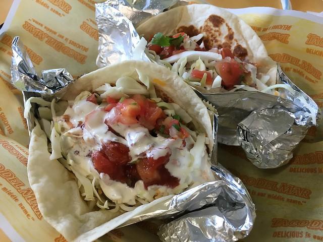 Fish tacos - Taco Del Mar