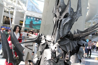 Wondercon 2016 - Sauron Cosplay | by W10002