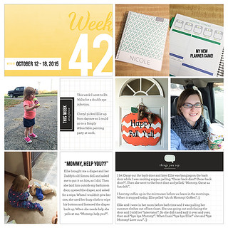 Project Life 2015: Week 42 | by nicolernorman