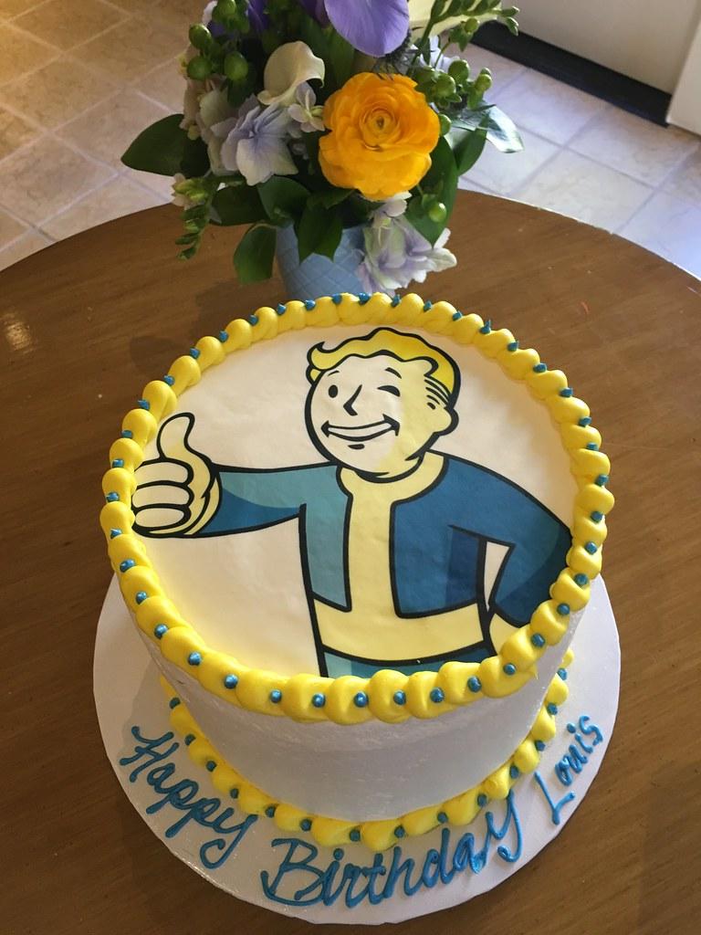 Louis 11th Birthday Cake March 2016 Louis 11th Birthda Flickr