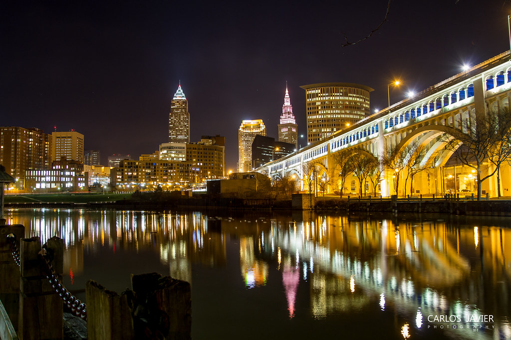 Cleveland  Ohio   by CarlosJRoman Cleveland  Ohio   by CarlosJRoman. Cleveland  Ohio   From my perspective    Downtown  Cleveland    Flickr