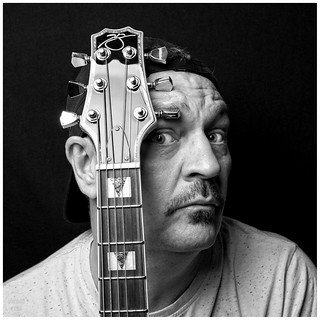 headstock | self portrait 9/52 | by John FotoHouse