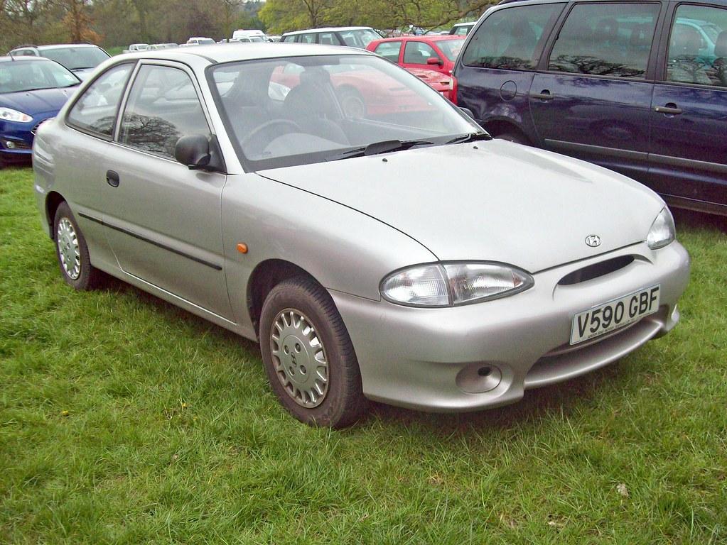 257 Hyundai Accent Coupe 1st Gen 1999