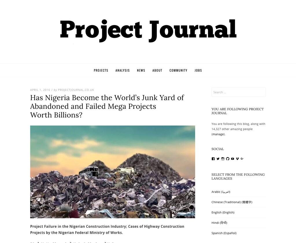 failed mega projects