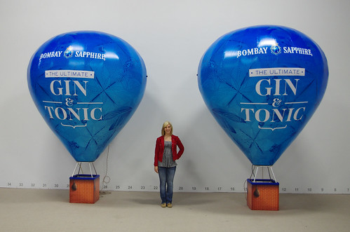 Bombay Gin Hot Air Inflatables | by Landmark Creations